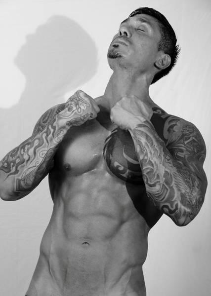 Erotism Photograph - Adam 3  by Mark Ashkenazi