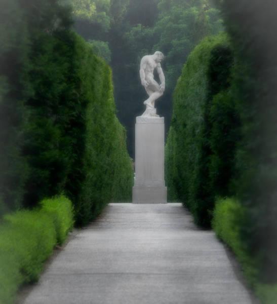 Allerton Garden Photograph - Adam by Victoria Martin