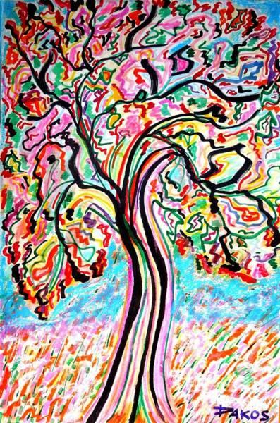 Sax Drawing - Adam's Tree      Sold by Darlyne Sax