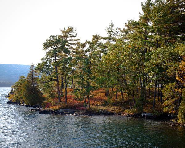 Photograph - Adirondack Island On Lake George by David Patterson