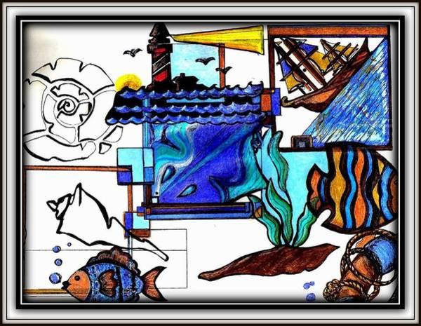 Digital Art - Admiral by Danielle  Parent
