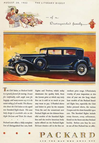 Photograph - Ads: Packard, 1932 by Granger