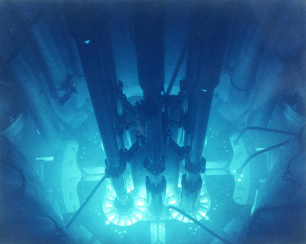 Fuel Element Photograph - Advanced Test Reactor Core by Us Department Of Energy