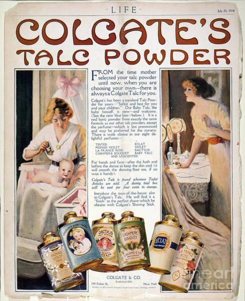 Colgate Wall Art - Photograph - Advertisement: Powder by Granger