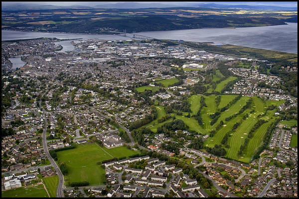 Photograph - Aerial View Of Inverness 1 by Joe Macrae