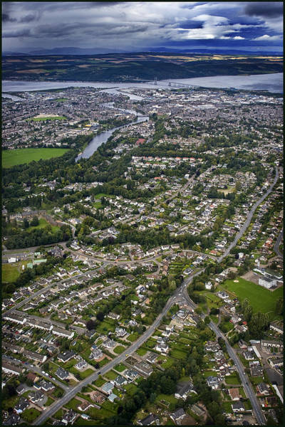 Photograph - Aerial View Of Inverness 2 by Joe Macrae