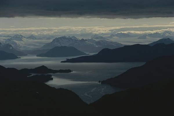 Gulf Of Alaska Photograph - Aerial View Of The Sound by Karen Kasmauski
