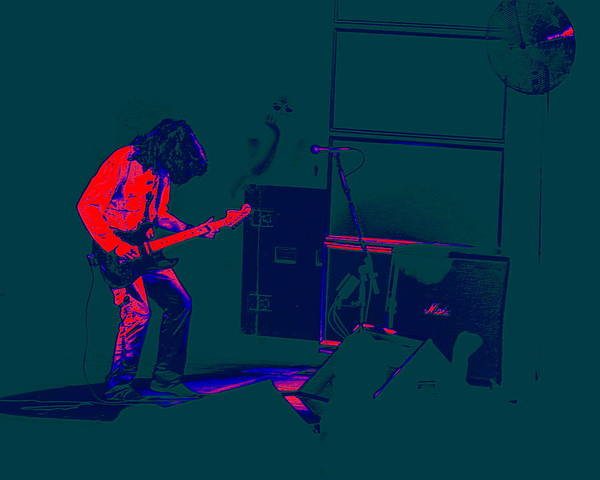 Joe Perry Digital Art - Aerosmith In Spokane 23e by Ben Upham