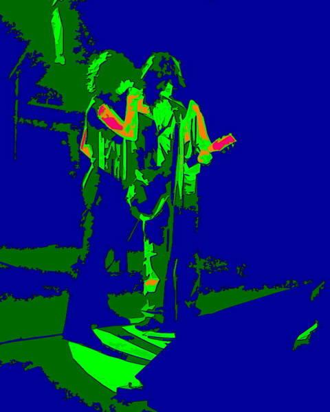 Photograph - Aerosmith In Spokane 2d by Ben Upham