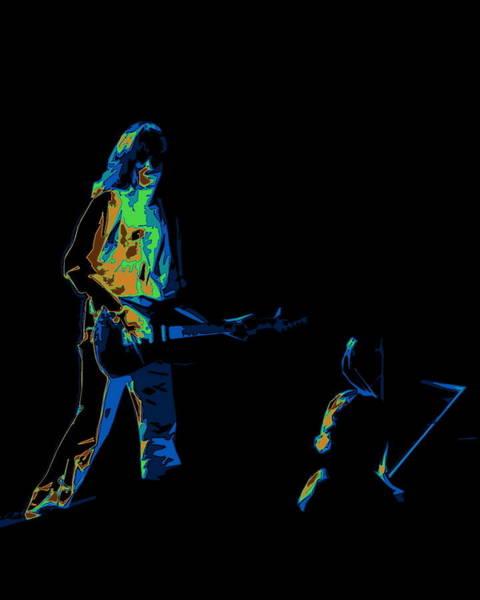 Joe Perry Digital Art - Aerosmith In Spokane 30b by Ben Upham