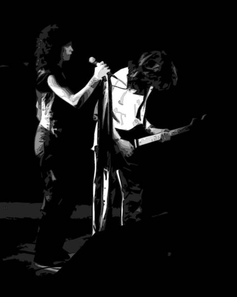 Photograph - Aerosmith In Spokane 31a by Ben Upham