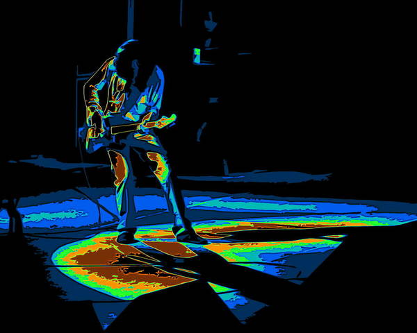 Joe Perry Digital Art - Aerosmith In Spokane 33c by Ben Upham
