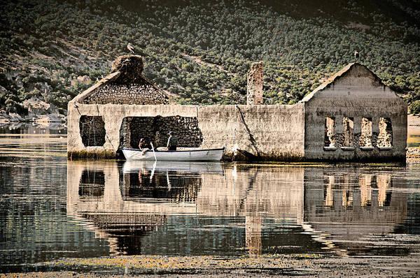 Photograph - Afloat by Okan YILMAZ