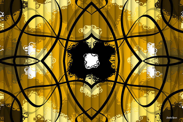 Tunisia Digital Art - African Abstract by Stephen Younts