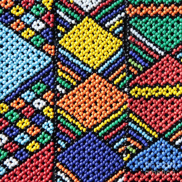 Beading Photograph - African Beadwork 2 by Neil Overy