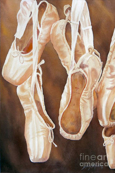 Painting - After The Dance Sold Prints Available by Sandy Brindle