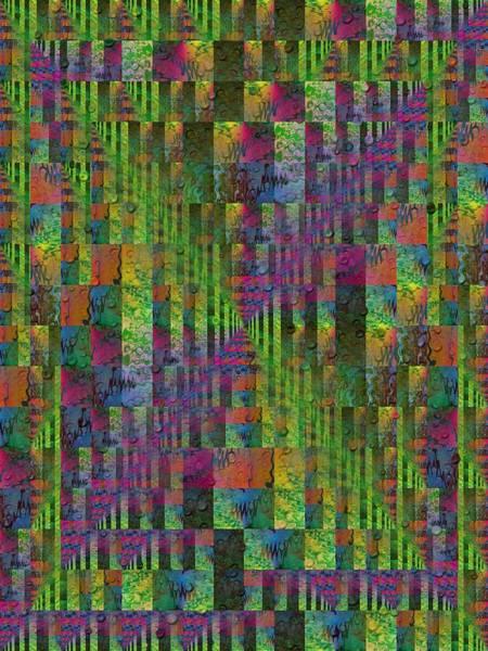 Purple Rain Digital Art - After The Rain 7 by Tim Allen
