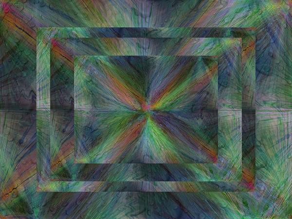 Purple Rain Digital Art - After The Rain 9 by Tim Allen