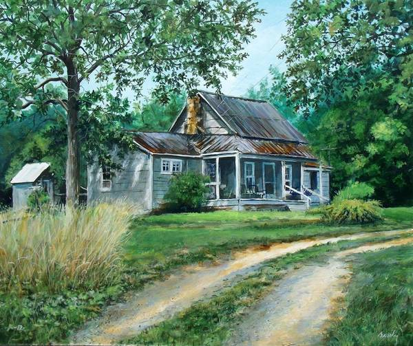 Painting - Afternoon At Flossie's by William Brody