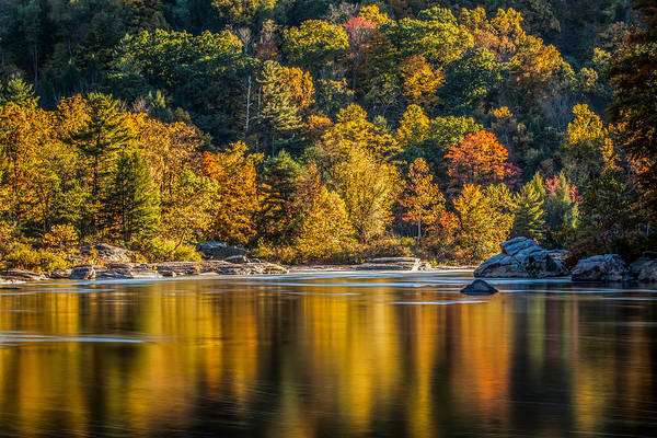 Allegheny Mountains Wall Art - Photograph - Afternoon On The Youghiogheny River by Jennifer Grover
