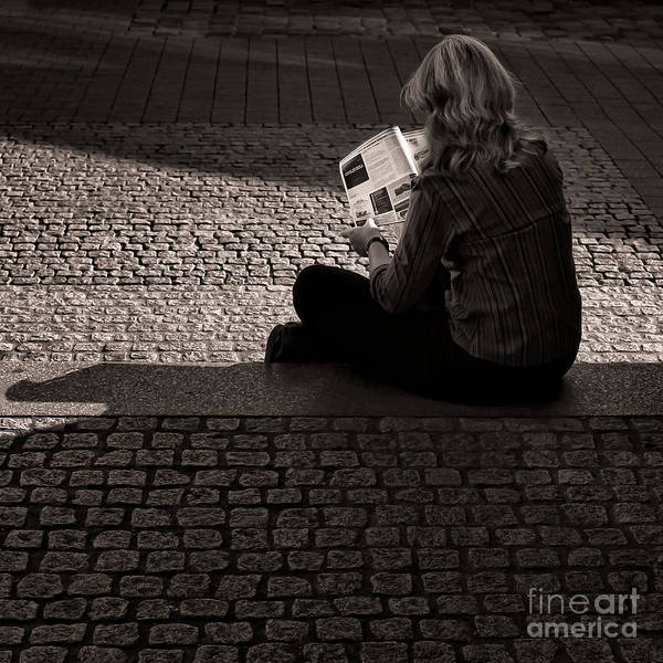 Photograph - Afternoon Reader by Ari Salmela