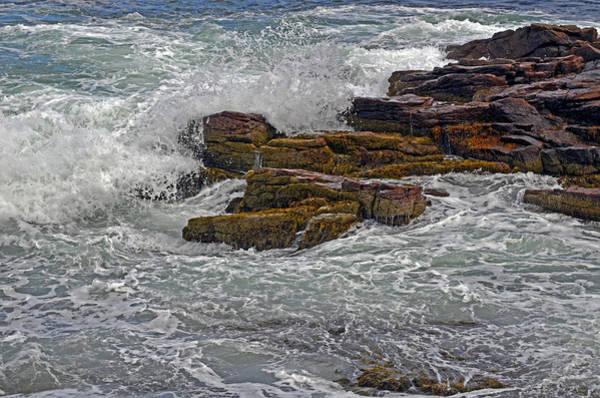 Digital Art - Against A Roily Sea by Lynda Lehmann