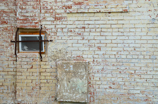 Photograph - Aged Brick Wall With Character by Nikki Marie Smith