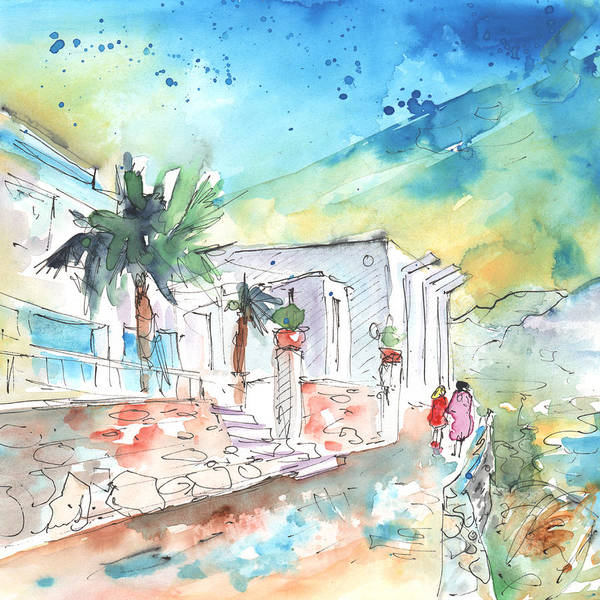 Painting - Agia Galini 02 by Miki De Goodaboom