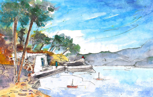 Painting - Agia Pelagia 01 by Miki De Goodaboom