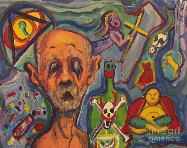 Leclair Painting - Aging by Suzanne  Marie Leclair