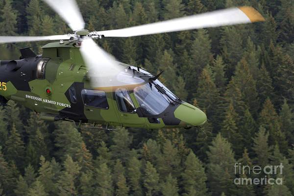 Utility Aircraft Photograph - Agustawestland A109 Helicopter by Daniel Karlsson