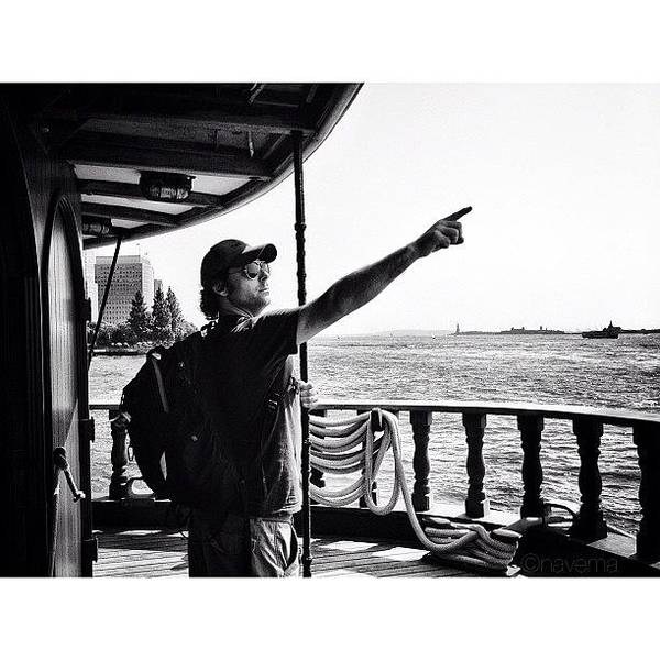 Monochrome Photograph - Ahoy! by Natasha Marco