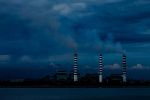Photograph - Air Pollution by Ray Shiu