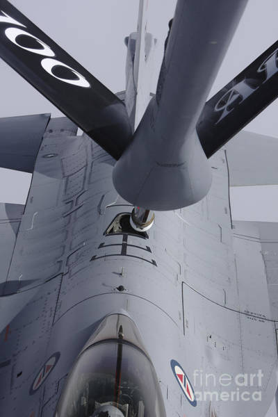 Photograph - Air Refueling A Norwegian Air Force by Daniel Karlsson