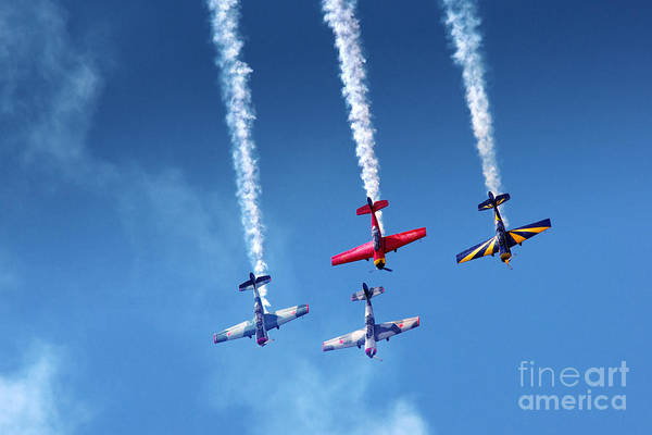 Acrobat Wall Art - Photograph - Air Show by Carlos Caetano