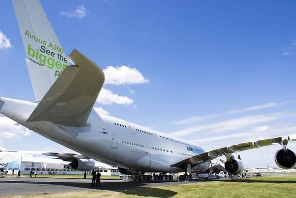 Airbus A380 Wall Art - Photograph - Airbus A380 by Mark Williamson
