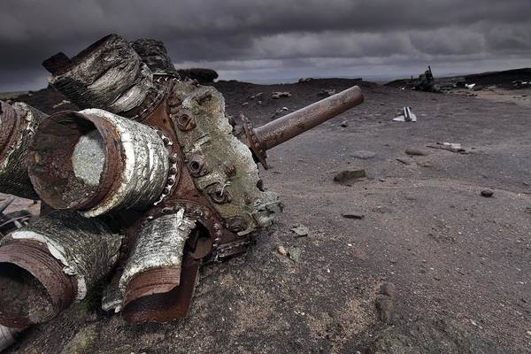 Superfortress Photograph - Aircraft Wreckage by Robbie Shone