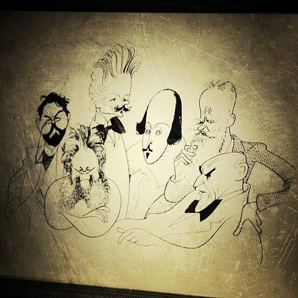 Drawing Wall Art - Photograph - Al Hirschfeld's Original Drawing For by Natasha Marco