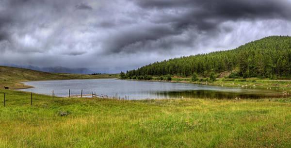 Photograph - Alaki Lake Near Eureka by Lee Santa