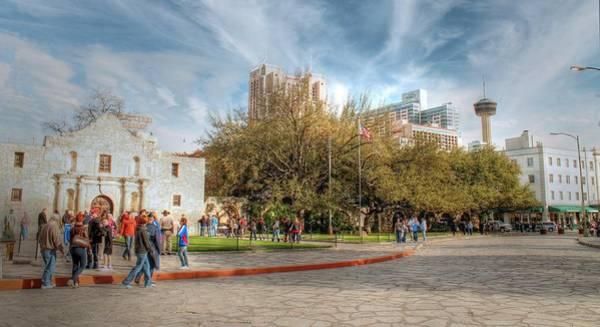 Photograph - Alamo Plaza by Sarah Broadmeadow-Thomas