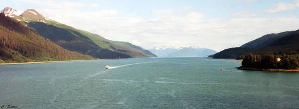 Photograph - Alaskan Boatride by C Sitton