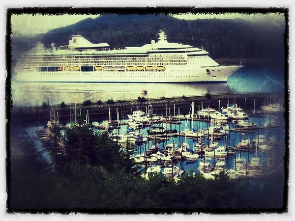 Wall Art - Photograph - Alaskan Cruise by Ches Black