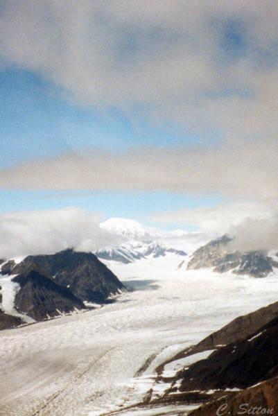 Photograph - Alaskan Glacier by C Sitton