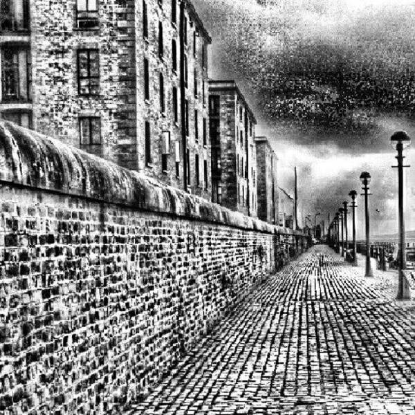 Wall Art - Photograph - #albertduck #liverpool #sky #cloudy by Abdelrahman Alawwad
