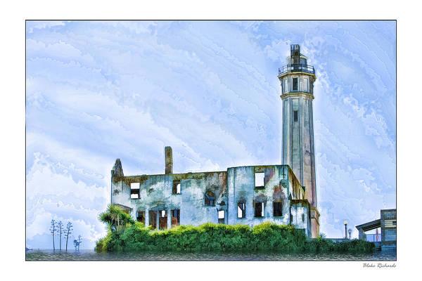 Photograph - Alcatraz Fine Art by Blake Richards