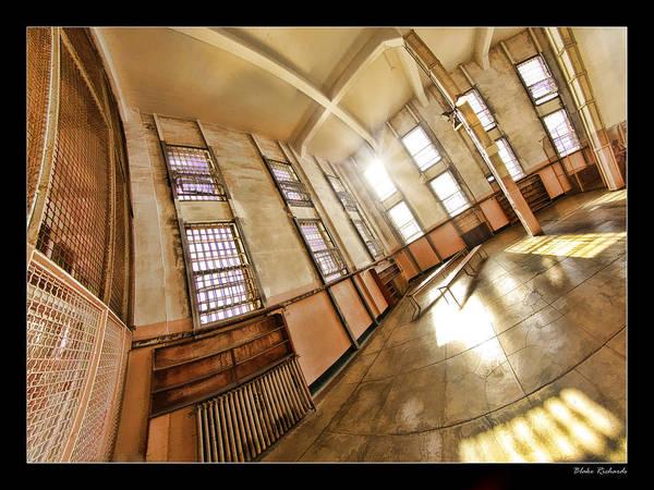 Photograph - Alcatraz Library by Blake Richards