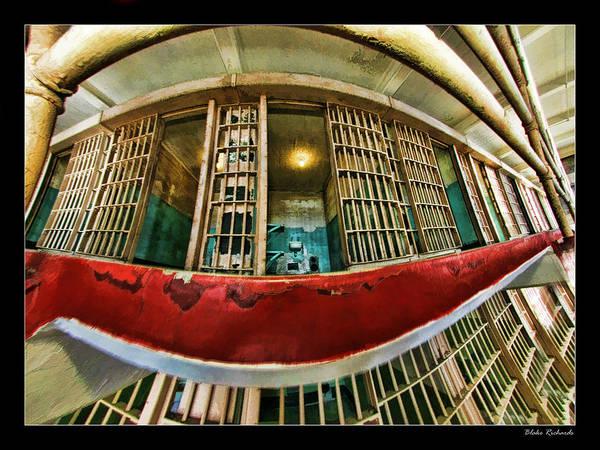 Photograph - Alcatraz Open Cell by Blake Richards