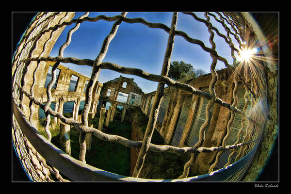Photograph - Alcatraz Though The Fence by Blake Richards