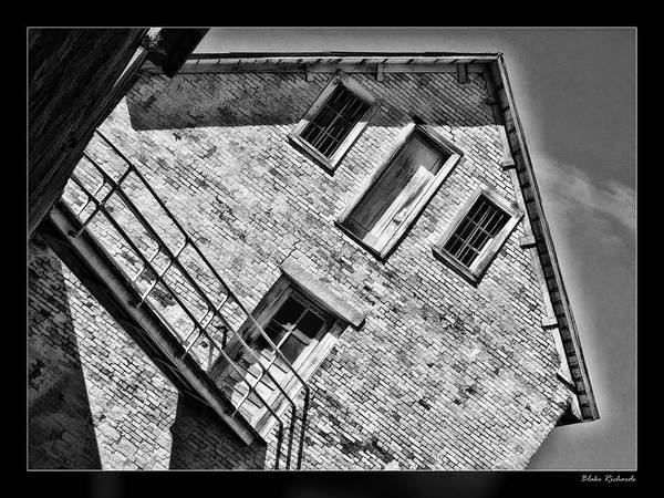 Photograph - Alcatraz White Building by Blake Richards