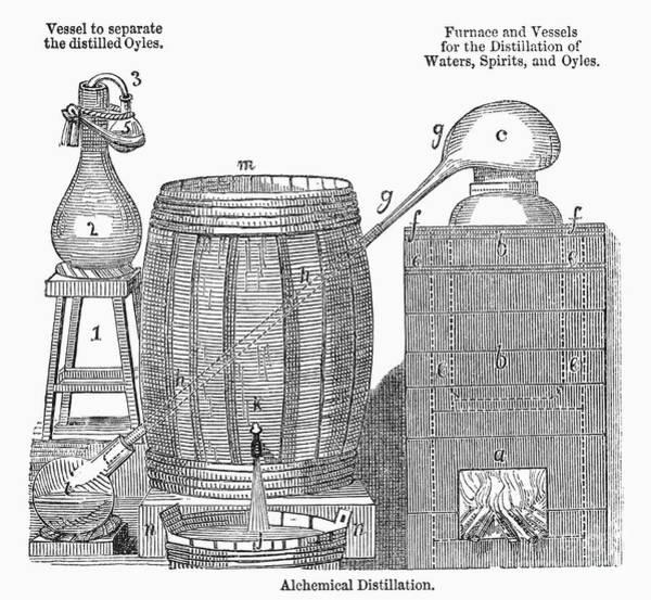 Photograph - Alchemical Distillation by Granger